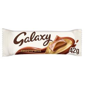 Galaxy milk chocolate single bar