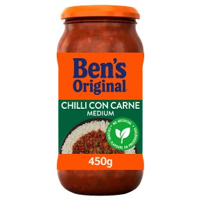 Uncle Ben's Mexican medium chilli con carne sauce