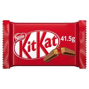 kitkat 4 finger milk chocolate bar waitrose partners
