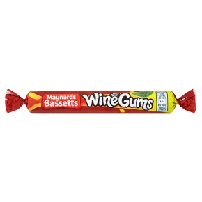 Maynards Bassetts Wine Gums Sweets Roll Pack