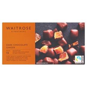 Waitrose Dark Chocolate Ginger