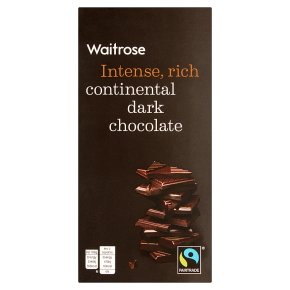 Waitrose continental plain chocolate