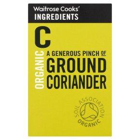 Waitrose Cooks' Ingredients organic ground coriander