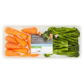 Tenderstem Broccoli & Chantenay Carrots