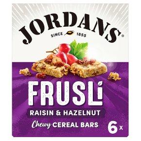 Jordans frusli bars raisin & hazelnut