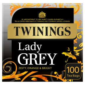 Twinings lady grey 100 tea bags