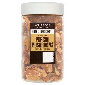 Waitrose Cooks' Ingredients dried porcini mushrooms
