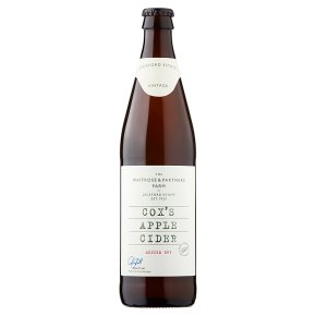 Waitrose Leckford cox's apple vintage cider