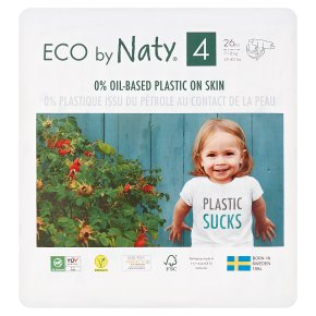 Nature babycare 4 maxi, 27 nappies - 7-18kg
