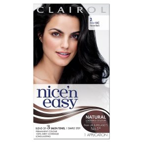 Nice n Easy Natural  Black 122 Hair Colour