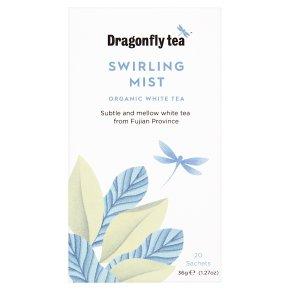 Dragonfly white tea swirling mist
