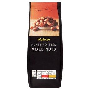 Waitrose honey roasted mixed nuts
