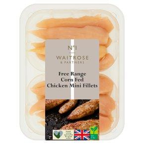 No.1 Corn Fed Lean & Tender Chicken Mini Fillets