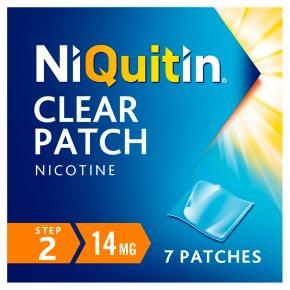 NiQuitin CQ Clear step 2 patches