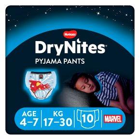 Huggies Dry Nites for Boys 4-7years