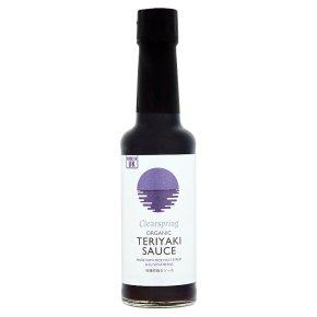 Clearspring organic teriyaki sauce