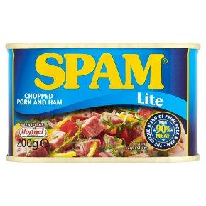 Spam lite chopped pork & ham