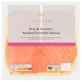 No.1 Scottish Smoked Salmon Peat & Heather