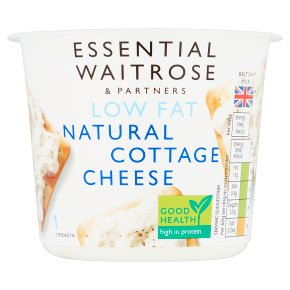 Essential Waitrose Low Fat Natural Cottage Cheese