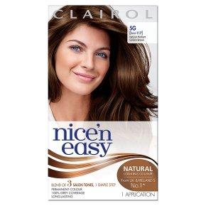 Nice n Easy Natural Medium Golden Brown 117 Hair Colour