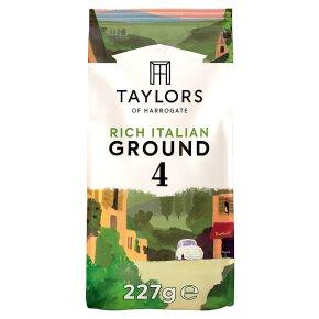 Taylors of Harrogate Rich Italian Ground Coffee