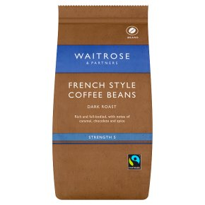 Waitrose French Style Coffee Beans
