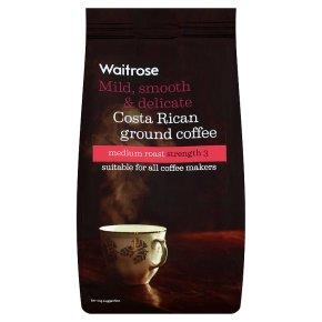 Waitrose Costa Rican ground coffee medium