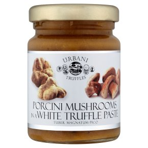 Urbani Tartufi mushrooms in a white truffle paste