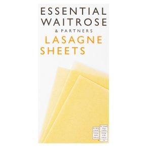 essential Waitrose lasagne