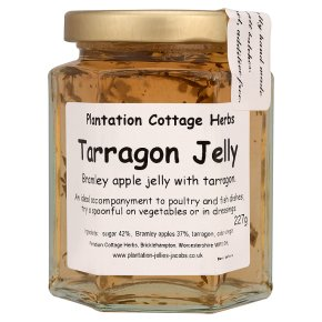 Plantation cottage tarragon jelly