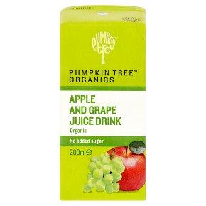 Pumpkin Tree organic apple & grape juice drink