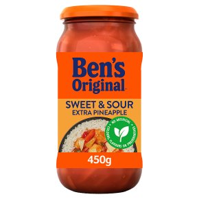Uncle Ben's Oriental pineapple sweet & sour sauce