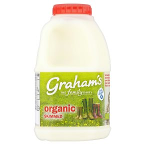 Graham's organic skimmed Scottish milk