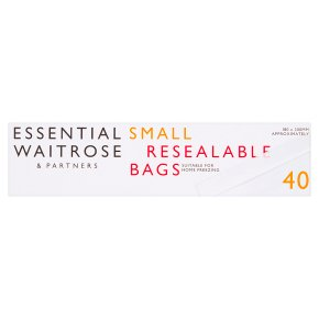Essential Small Reclosable Bags