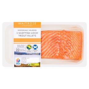 Waitrose 2 Scottish Loch Trout Fillets