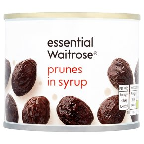 Essential Prunes in Light Syrup