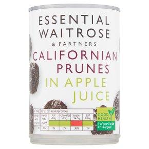 Essential Waitrose Prunes (in fruit juice)