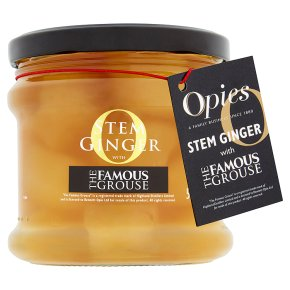 Opies Fujan stem ginger with Teacher's whisky