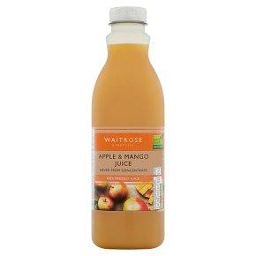 Waitrose pressed apple & mango juice