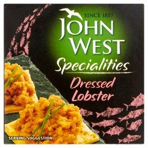 John West dressed lobster