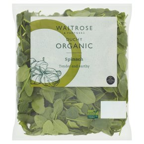 Waitrose Duchy Organic spinach