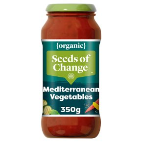 Seeds of Change organic Mediterranean vegetables pasta sauce