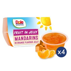 Dole Fruit & Jelly - Mandarin