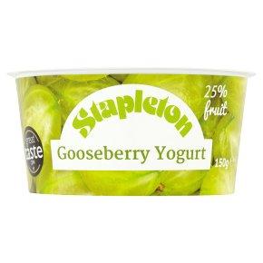 Stapleton gooseberry yogurt