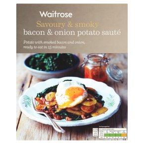 Waitrose bacon & onion potato sauté