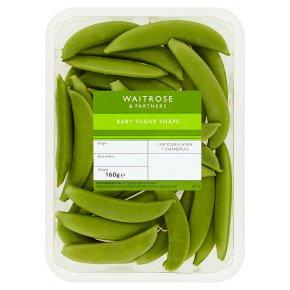 Waitrose 1 Baby sugar snaps