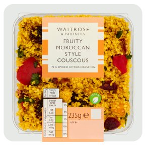 Waitrose Moroccan Spiced Fruity Couscous
