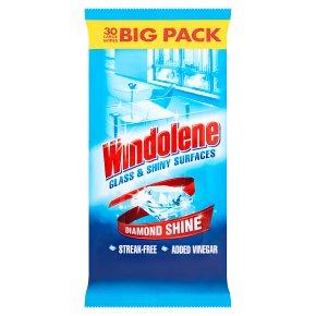 Windolene Window and Glass Cleaner 30 Wipes