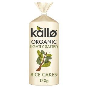 Kallo original organic wholegrain rice cakes
