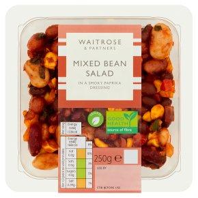 Waitrose mixed bean salad